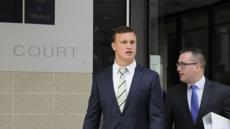 Raiders fullback Jack Wighton's season could be over.