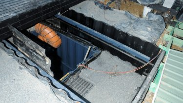 No water, no ventilation: The boy was locked inside the container.