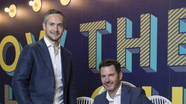 Competition is heating up in the payments sector said Zip co-founders Larry Diamond and Peter Gray.