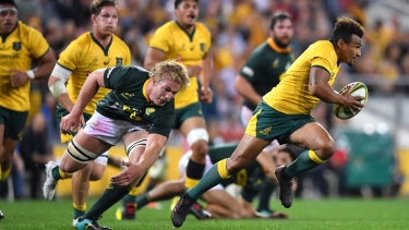 Will Genia was one of the Wallabies' best.