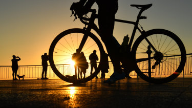 Cycling and bushwalking are two of the most popular pursuits on the mountain.