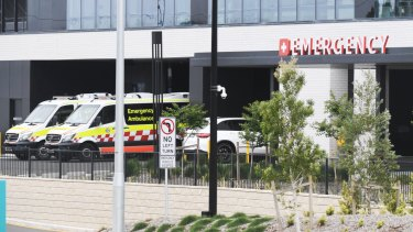 The emergency department at Northern Beaches Hospital.