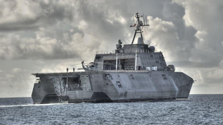 Austal US built Littoral Combat Ship has help sail Austal to near-record profits.