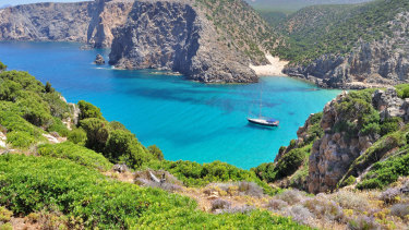Sardinia, the island home to a record number of centenarians.