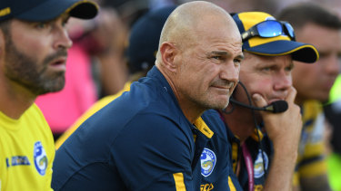 Management support: Brad Arthur will be given the chance to build a winning culture at the Eels.