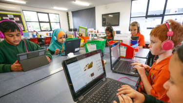 Clayton North Primary School was among those to sign up for NAPLAN online testing this year.
