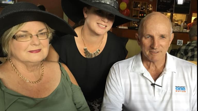 The veteran: One Nation's Lockyer candidate Jim Savage, whom the party hopes can succeed.