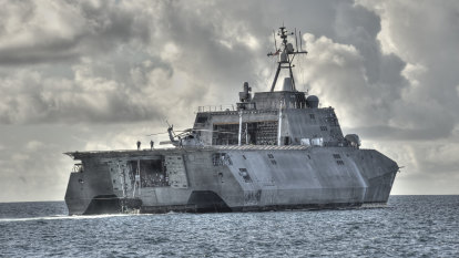 Shipbuilder Austal eyes 'dramatic growth' in Asian naval forces