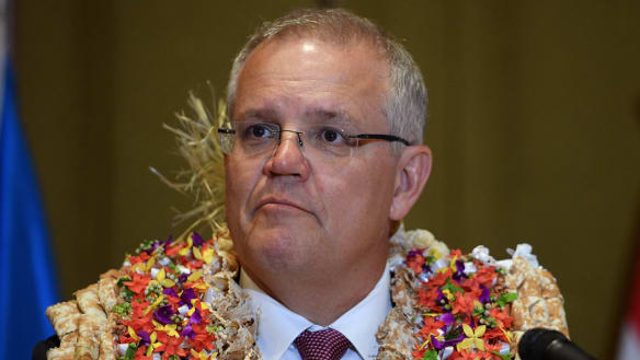 Pacific shames PM on climate policy