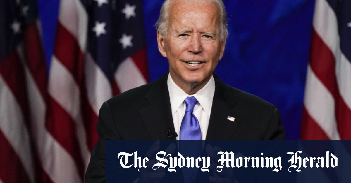 Joe Biden accepts Democratic Party nomination – Sydney Morning Herald