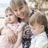 Dana Lightbody and her children.