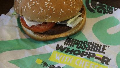'Misleading': Vegan sues Burger King over its meatless burger
