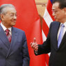 Malaysia cancels Belt and Road projects with China over bankruptcy fears