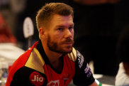 Australian opener Warner has been dropped in favour of blooding new stars with his IPL franchise unable to make the play-offs.