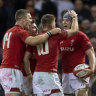 Wales pleased with rare November win ahead of Wallabies clash