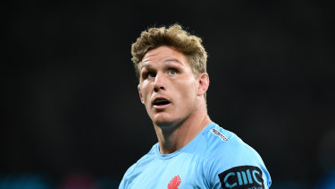 Michael Hooper will stand aside from captaincy duties with the Waratahs.