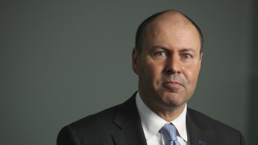 Treasurer Josh Frydenberg revealed younger workers will suffer an 8 per cent hit to wages.