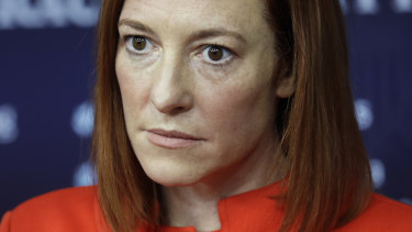 Jen Psaki, White House press secretary, says US President Joe Biden remains committed to a woman's right to choose.