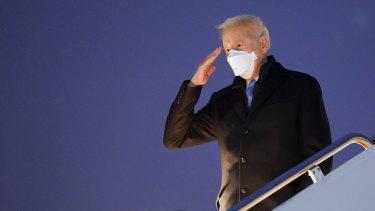 US President Joe Biden did not impose travel sanctions on Saudi Crown Prince Mohammed bin Salman.