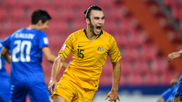 Nick D'Agostino, the Olyroos' goalscoring hero against Uzbekistan, is a prime example of the sort of player who could benefit from an expanded Y-League - too old to play under the current structure, and not yet in Perth Glory's first-team picture.