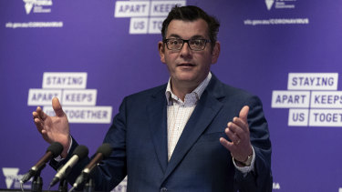 Daniel Andrews fronted the media this morning for the 85th day in a row.