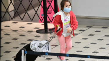 A small child was amongst those Australians evacuated from the Peruvian capital of Lima.