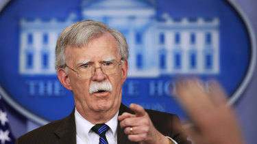 John Bolton advocated regime change in Iran before joining the White House last year.