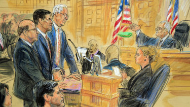 Ex-national security adviser Michael Flynn gets a dressing down from the judge.