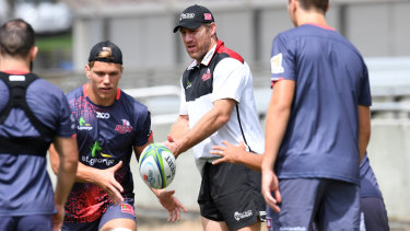 Brad Thorn at the Queensland Reds