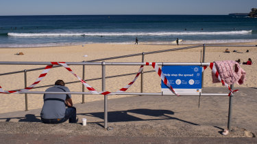 Lifeguards will patrol beaches to ensure people are following social distancing rules.