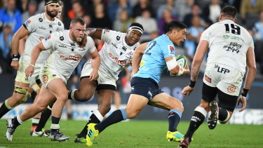 Undone: The Waratahs created plenty of scoring opportunities but were let down by their own skill execution and a high penalty count