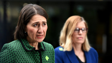 Premier Gladys Berejiklian and NSW Chief Health Officer Dr Kerry Chant said new COVID-19 cases had increased significantly.
