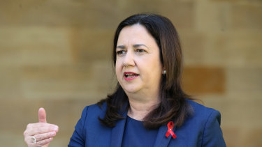 Queensland Premier Annastacia Palaszczuk has announced two new cases of COVID-19 in Queensland on Saturday.