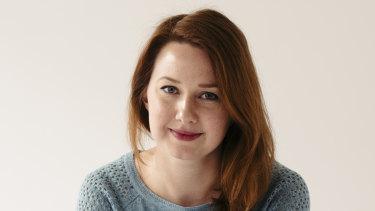 Australian author Hannah Kent.
