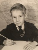 Fabian Marsden as a young student.
