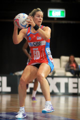 Julie Corletto in Swifts colours, 2015.