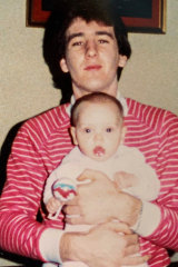 Uncle Trevor: Accused police killer Trevor Pettingill with Jade.