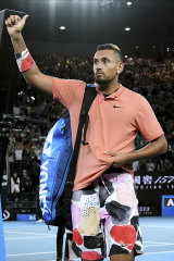 Nick Kyrgios enhanced his standing with his support for bushfire relief and performances at the Open.