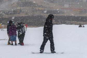 Snow is expected to fall across NSW's alpine region on Wednesday and Thursday.