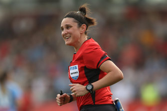 Kate Jacewicz will referee City's A-League match against the Jets at AAMI Park.