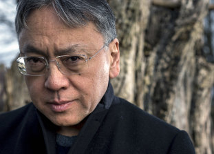 "Kazuo Ishiguro says his new novel is  ""an examination of love and what does it mean to love""."