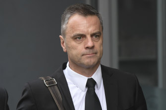 Commander Stuart Bateson in 2019.