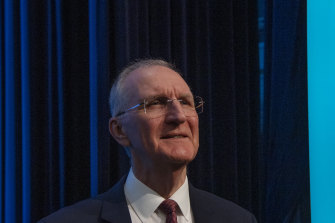 QBE Group chairman Mike Wilkins.
