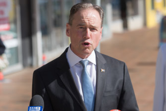 Greg Hunt says he has received advice saying the United States could not access COVIDSafe data.