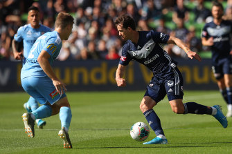 Robbie Kruse will be vital to Melbourne Victory in Ola Toivonen's absence.