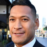 Folau's Tonga league return 'never been discussed'