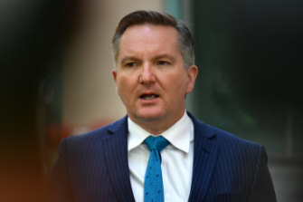 Federal Shadow Treasurer Chris Bowen, in Canberras this morning, says Prime Minister Scott Morrison has been humiliated by his back down on the GST guarantee.