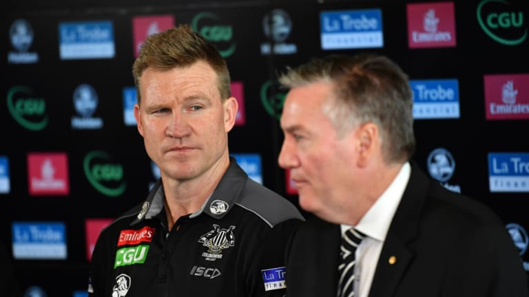 Collingwood coach Nathan Buckley does not have the same concerns about the schedule as his president.
