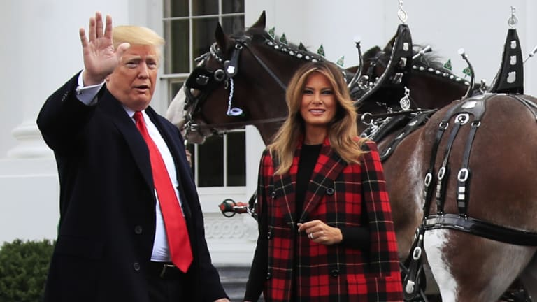 First lady Melania Trump has shown little interest in participating in the traditional activities of presidents' wives.