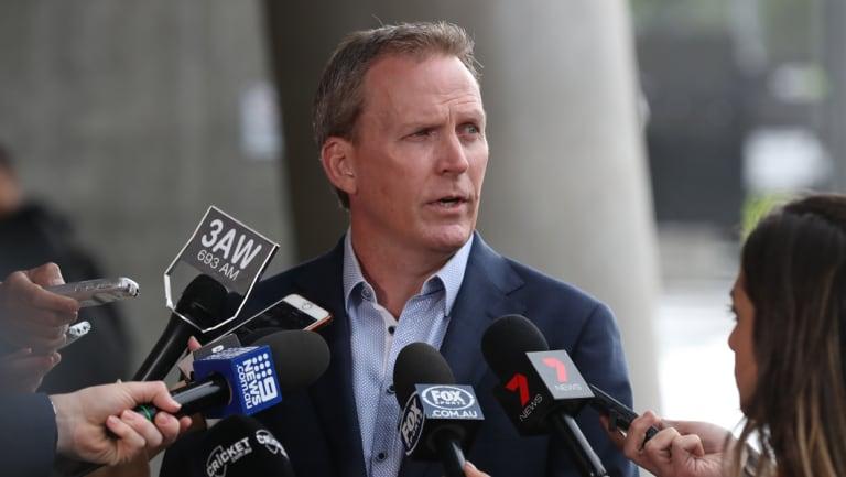 Big job: Cricket Australia CEO Kevin Roberts.